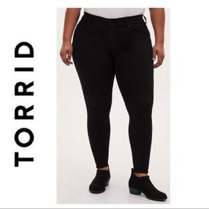 Torrid Black Bombshell Skinny Jean